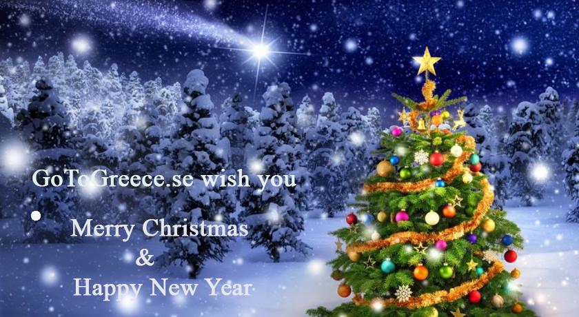 En riktigt God Jul och Gott Nytt År önskar vi er alla!